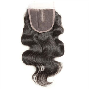 "10""-20"" 3 Part Virgin Brazilian Remy Hair Lace Top Closure(5""*5"") Body Wave"