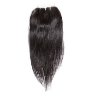 "10""-20"" Virgin Brazilian Remy Hair 3 Part Straight Lace Top Closure(5""*5"") Natural Color"