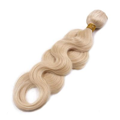 14 - 30 Inch Hand Tied Hair Extensions Body Wave Tie In Human Hair Extensions 6 Bundles/Pack