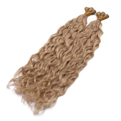 14 - 30 Inch Hand Tied Hair Extensions Water Wave Tie In Human Hair Extensions 6 Bundles/Pack #16