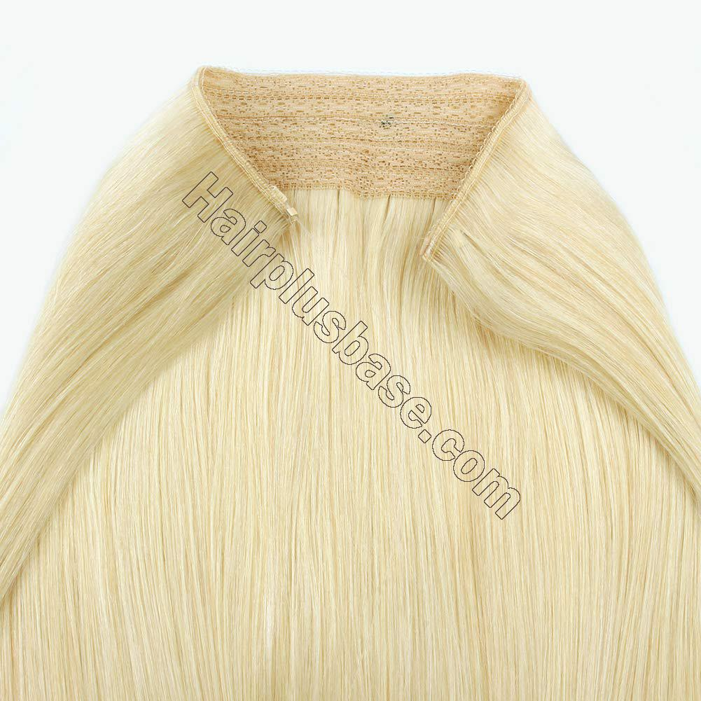 14 - 32 Inch Halo Hair Extensions #60 Body Wave/Straight 6