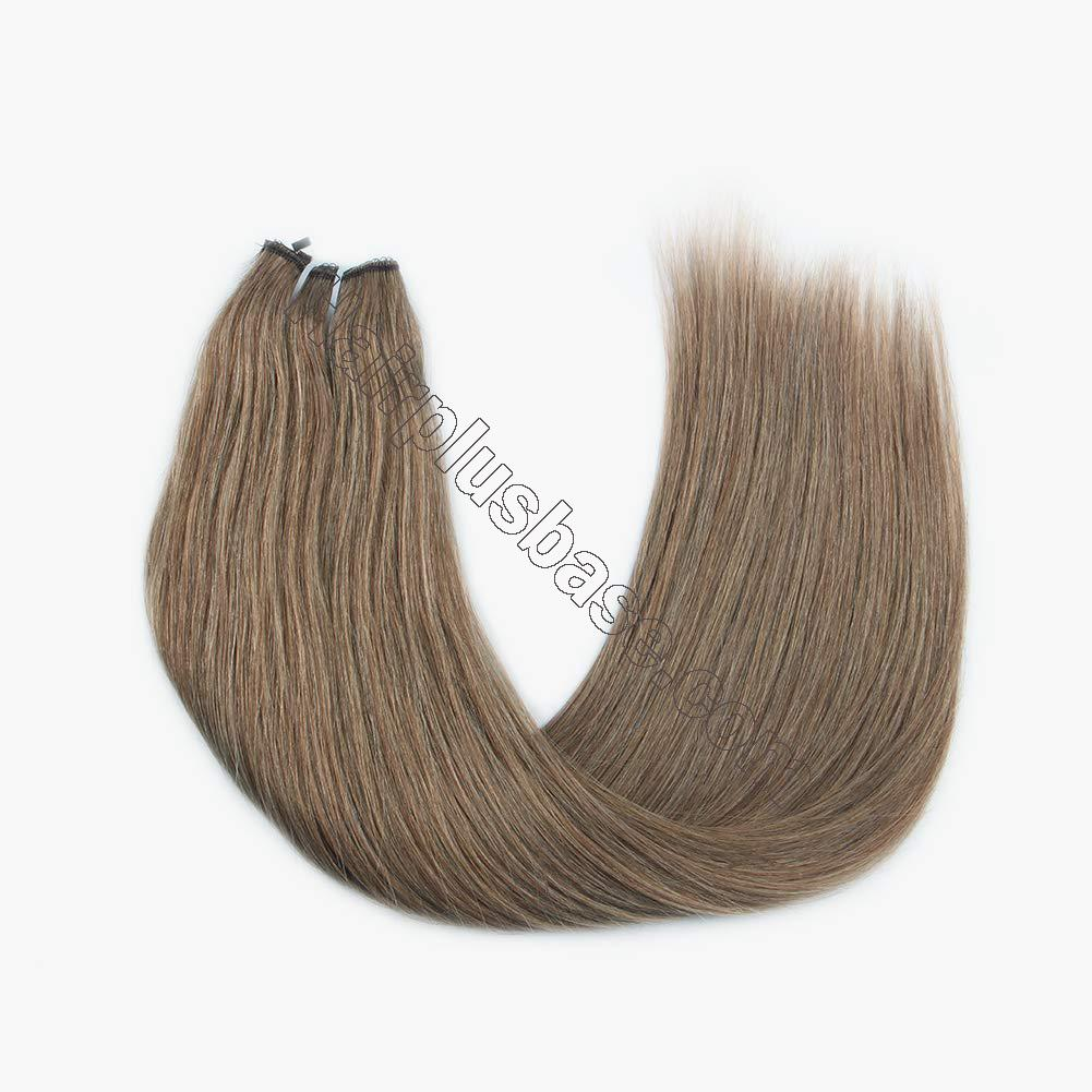 14 - 32 Inch Halo Hair Extensions #8 Body Wave/Straight 3