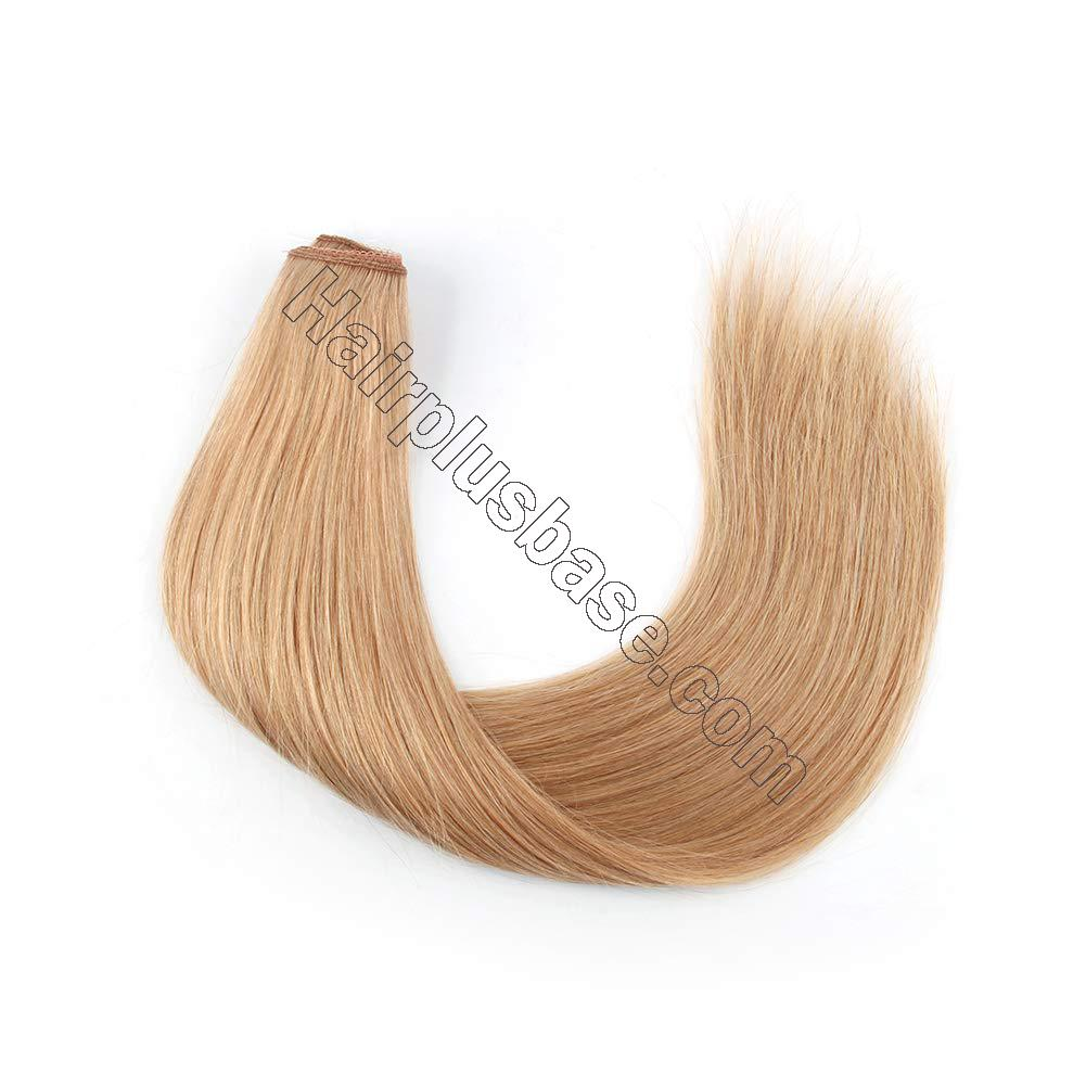 14 - 32 Inch Human Hair Halo Extensions #12 Body Wave/Straight 3