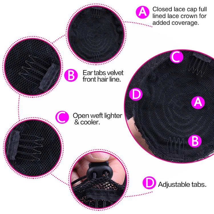 14  - 32 Inch Kinky Straight Human Hair Ponytail  Drawstring Ponytail Extensions #1B Natural Black 2