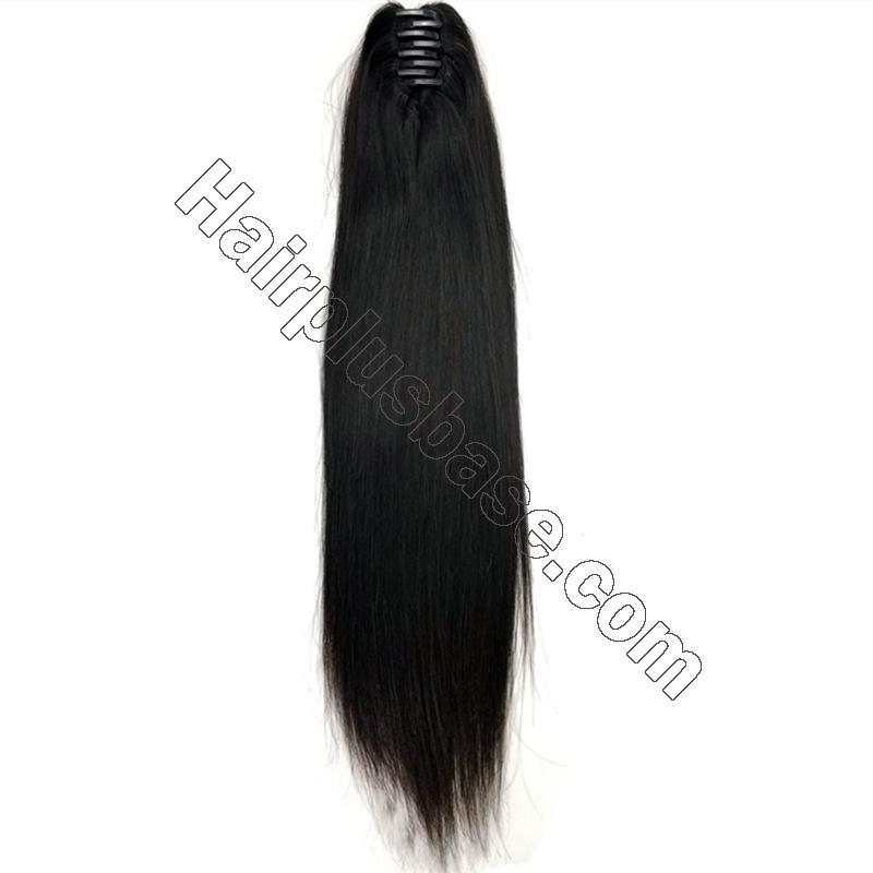 14 - 32 Inch Loose Curly Claw Ponytail Extension Human Hair 4