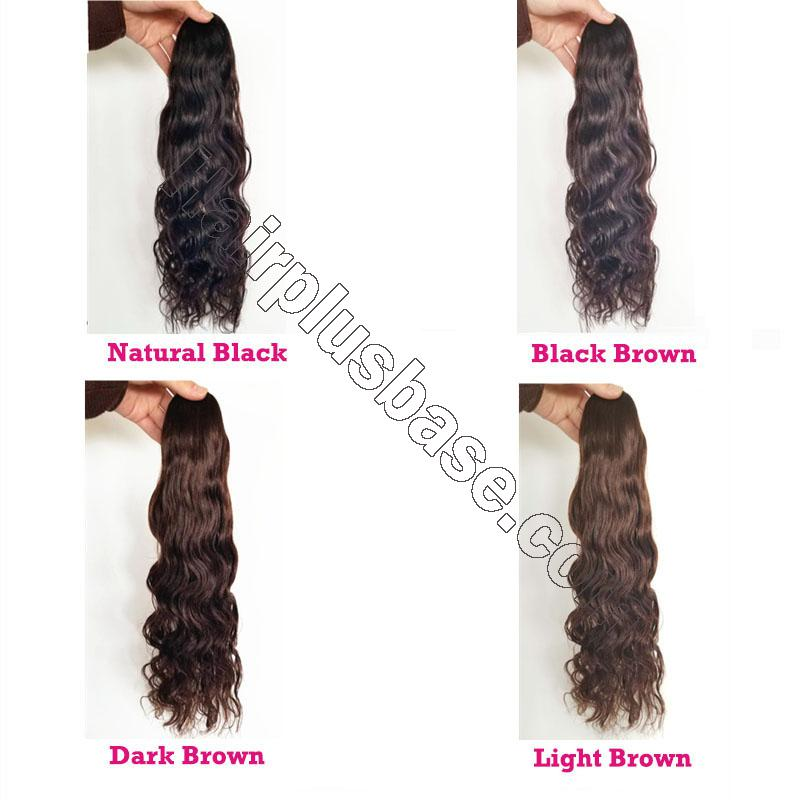 14 - 32 Inch Loose Curly Claw Ponytail Extension Human Hair 5