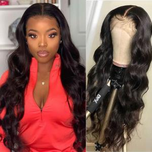 180% Density Full Lace Wigs Body Wave Long Human Hair 10-30inches