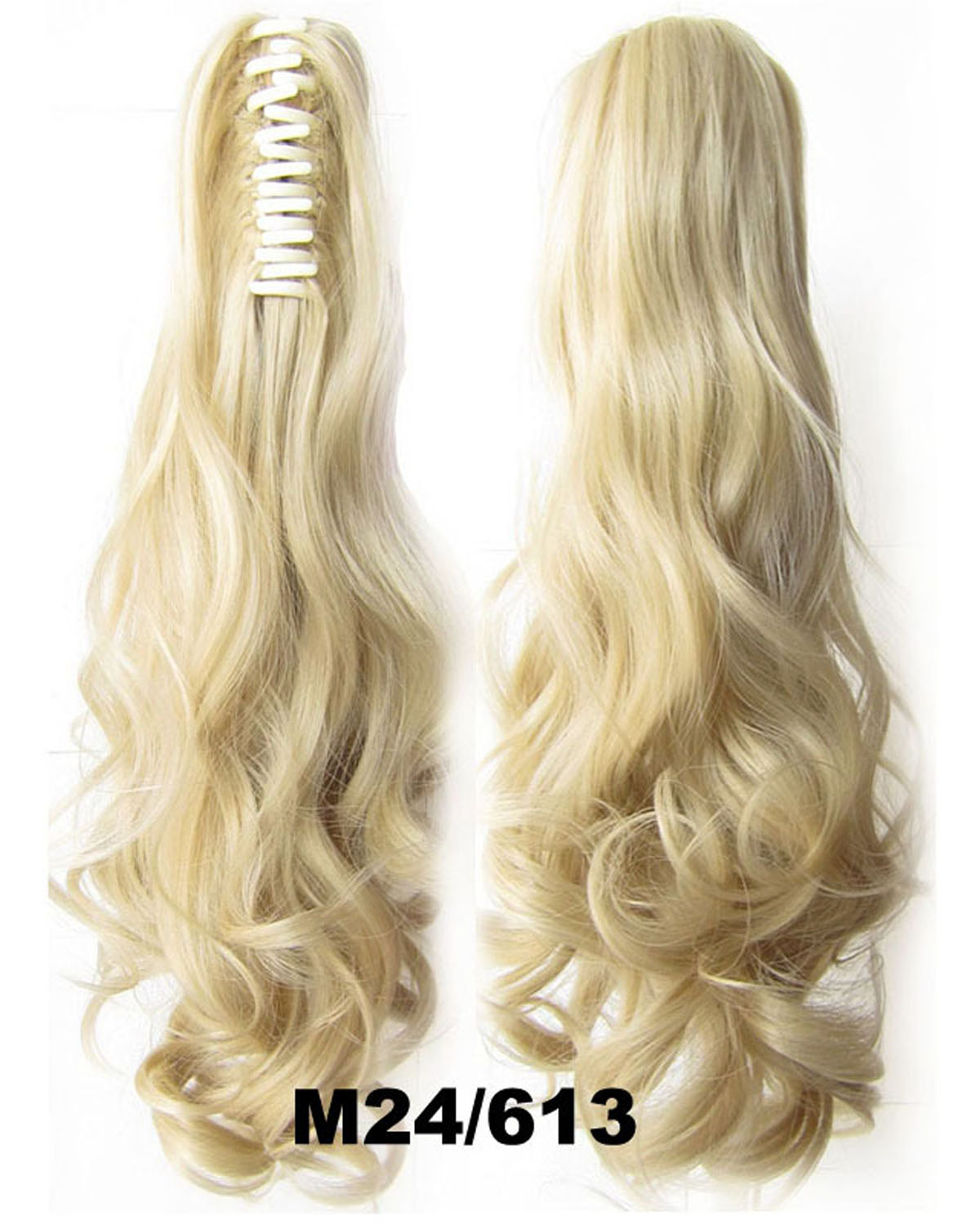 22 Inch Lady Body Wave Amazing Curly and Long Claw Chip Synthetic Hair Ponytail  M24/613