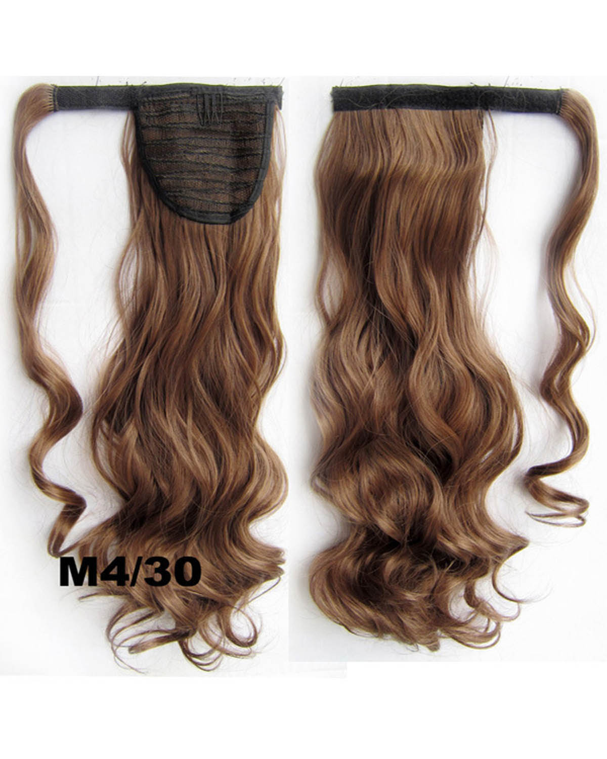 22 Inch Lady Bright Curly and Long Wrap Around Synthetic Hair Ponytail M4/30