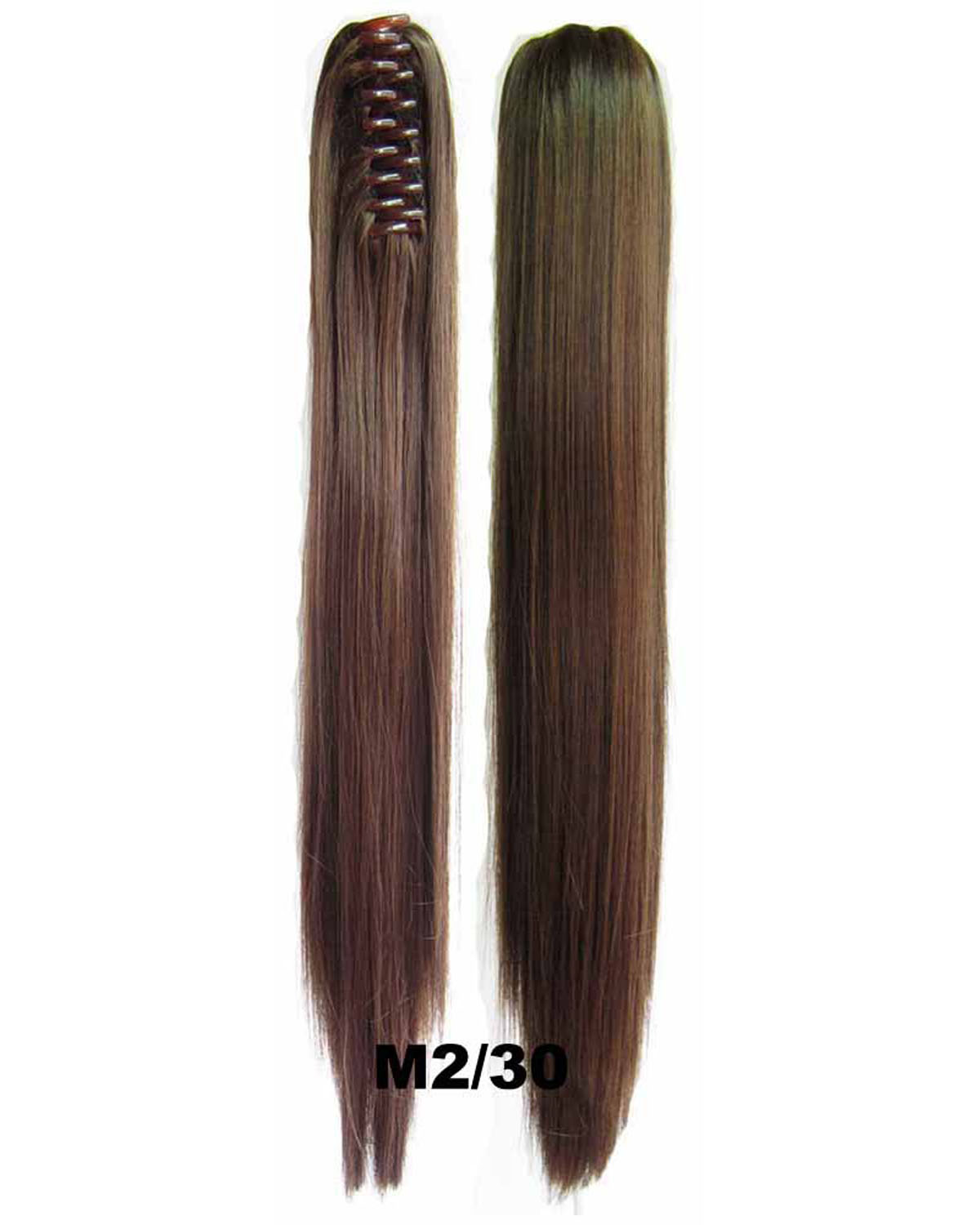 22 Inch Lady Elegant Straight and Long Claw Chip Synthetic Hair Ponytail M2/30