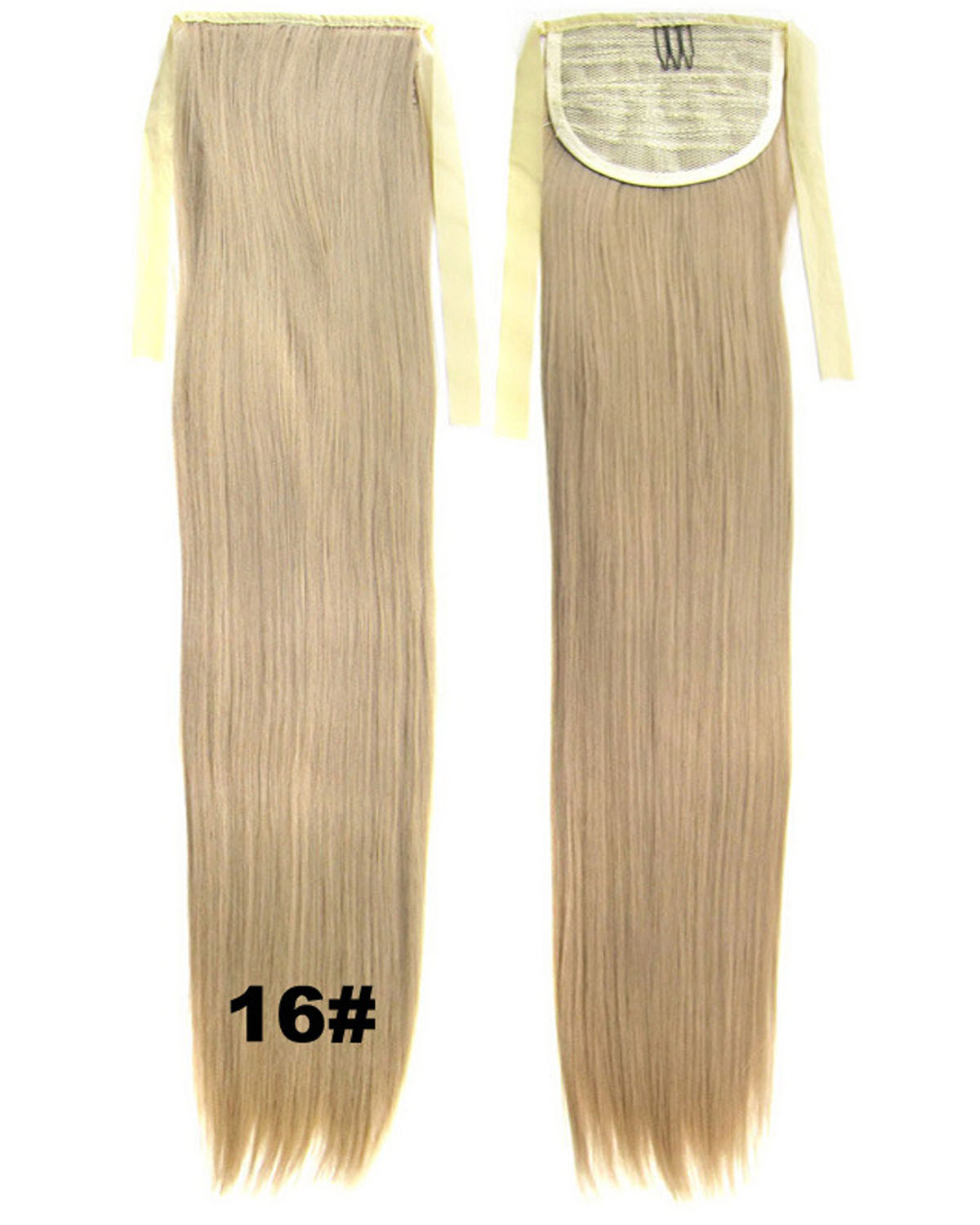 22 Inch Lady Fashional Straight and Long Lace/Ribbon Synthetic Hair Ponytail  16# Hot-sale