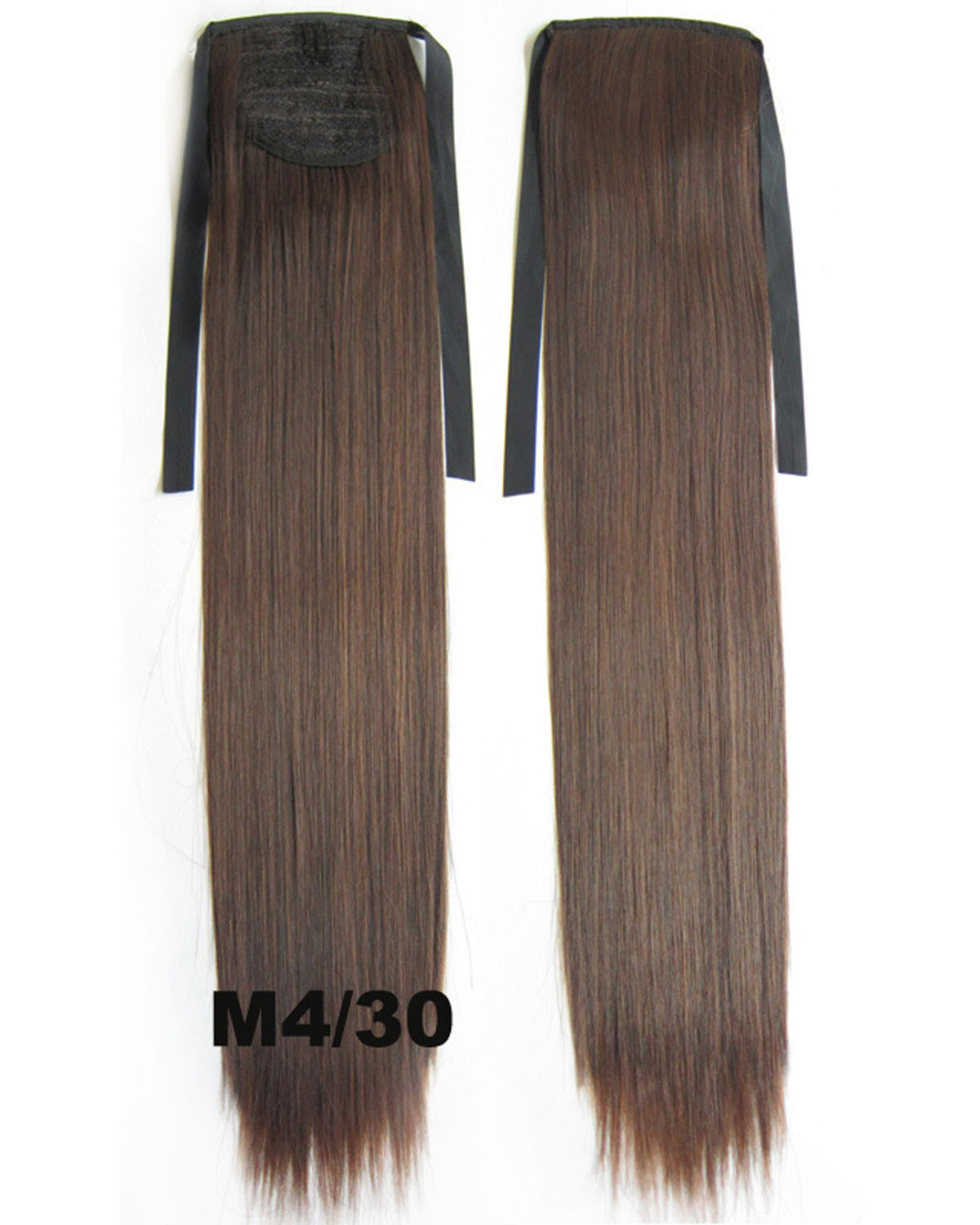 22 Inch Lady Fashional Straight and Long Lace/Ribbon Synthetic Hair Ponytail  M4/30