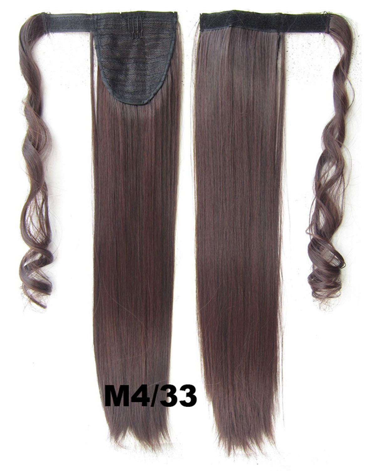 22 Inch Lady Graceful Curly and Long Wrap Around Synthetic Hair Ponytail  M4/33#