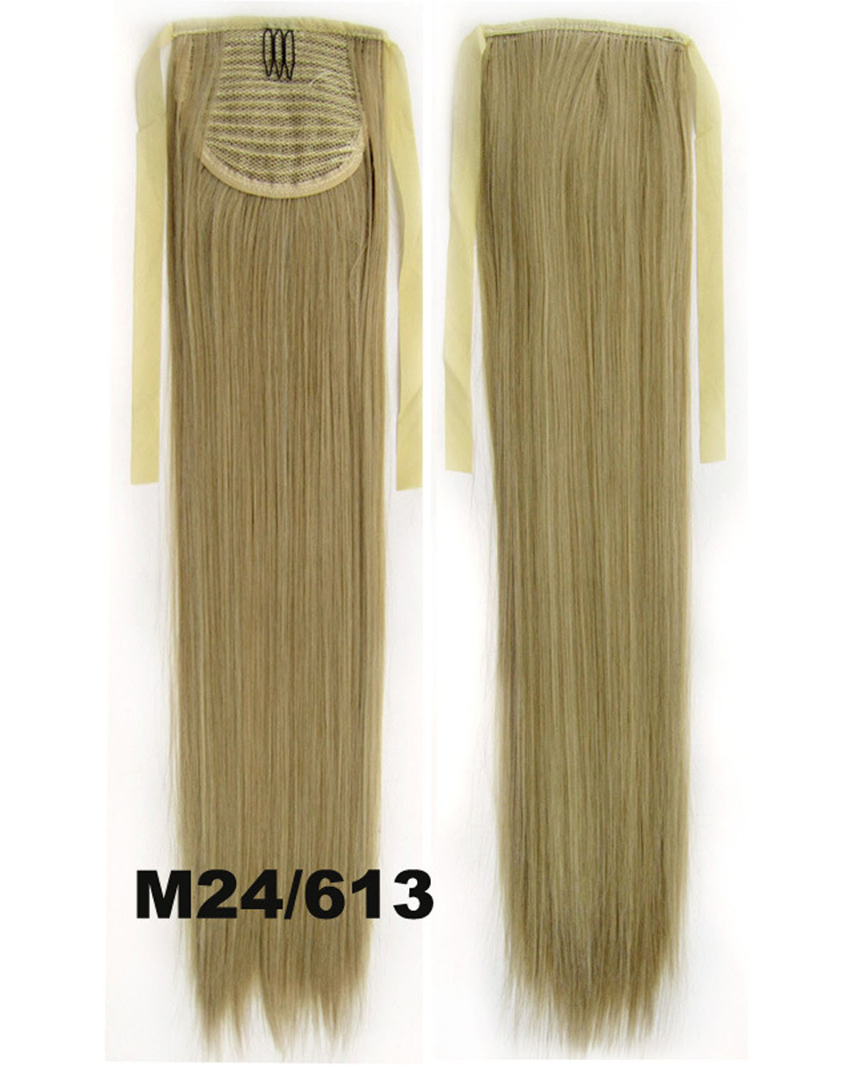 22 Inch Lady Great Straight and Long Lace/Ribbon Synthetic Hair Ponytail  M24/613