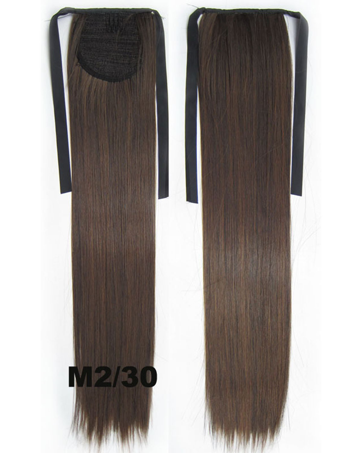 22 Inch Lady Popular Straight and Long Lace/Ribbon Synthetic Hair Ponytail M2/30#