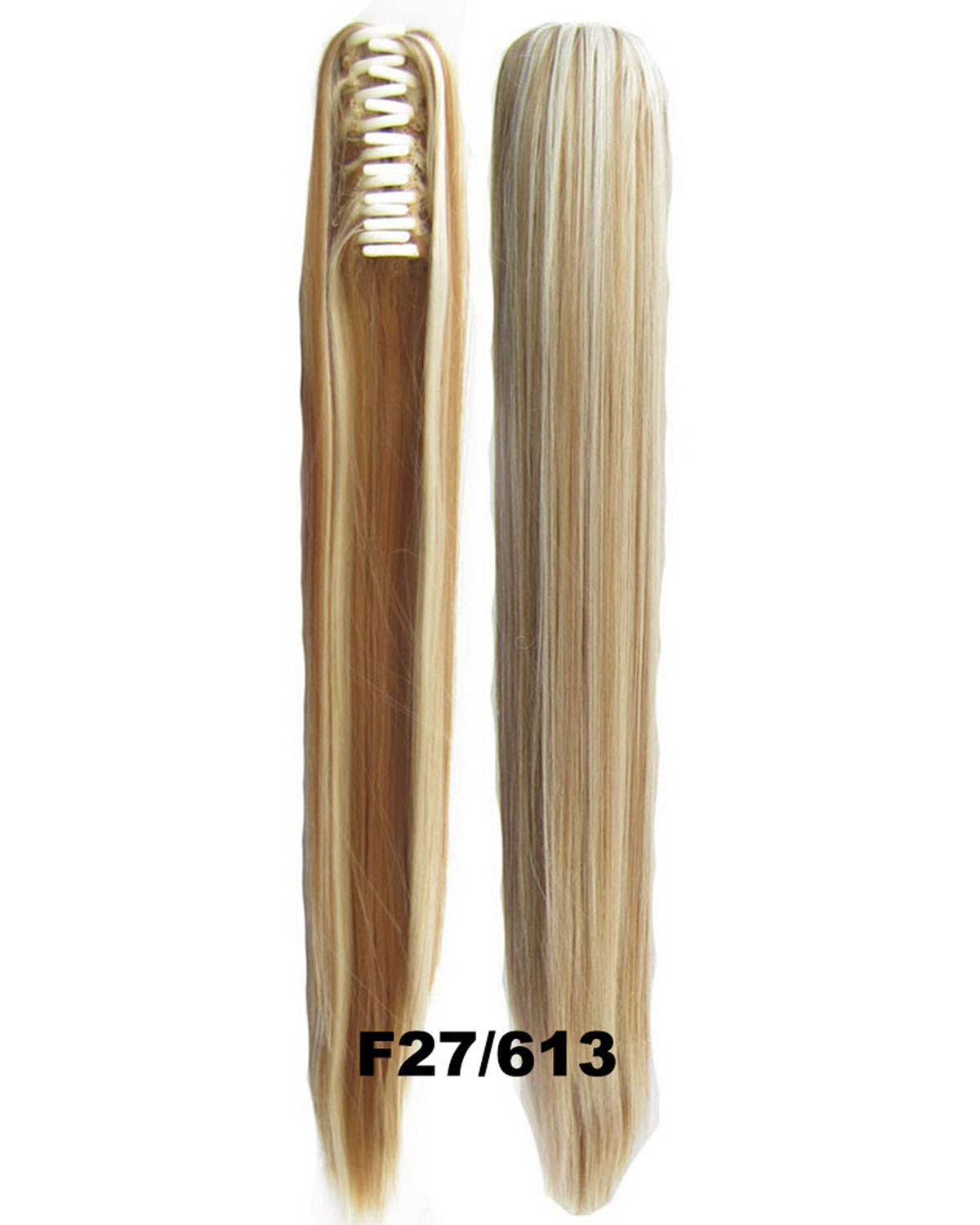 22 Inch Lady Straight and Long Claw Chip Synthetic Hair Ponytail  F27/613 Stylish and Popular