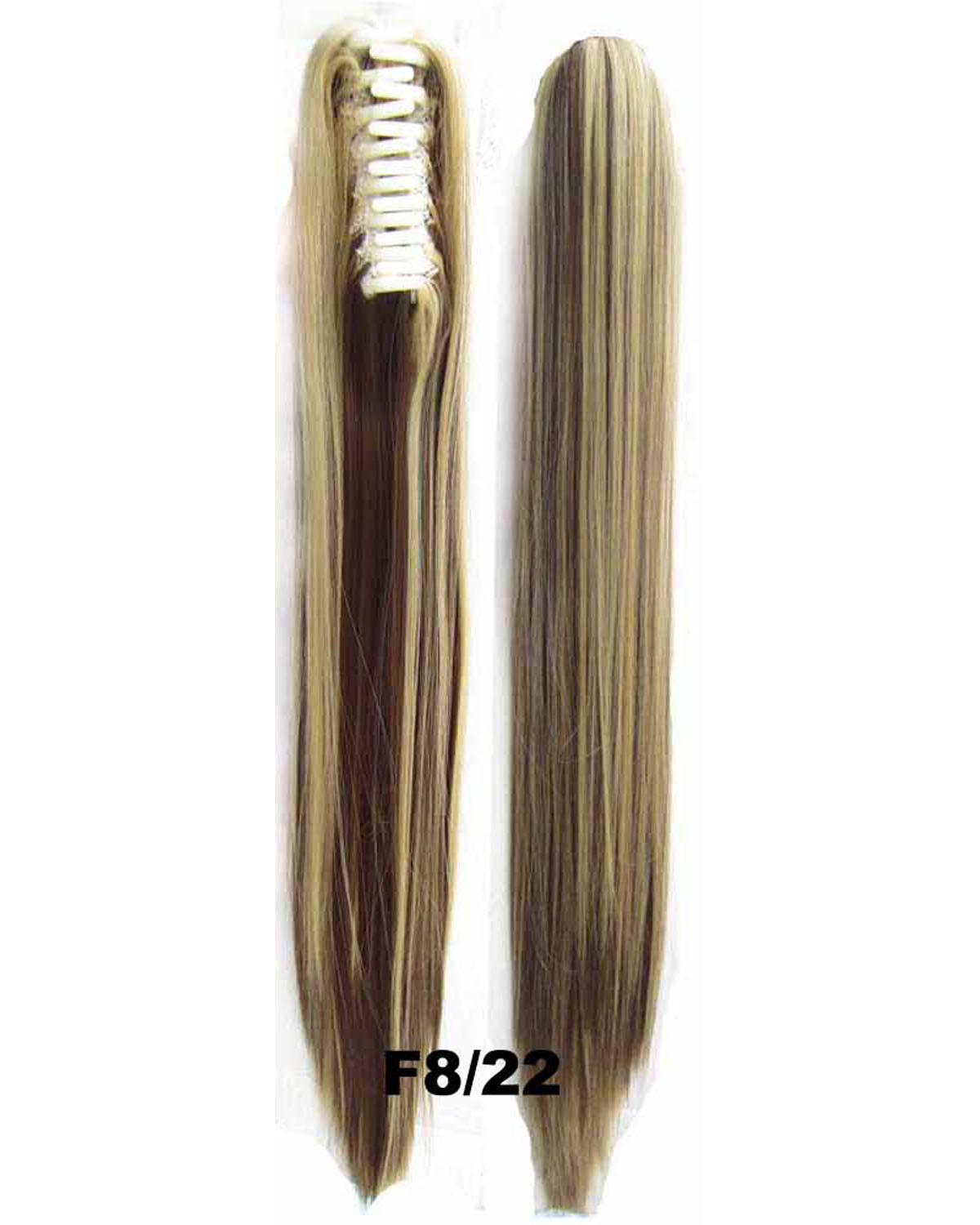 22 Inch Lady Straight and Long Claw Chip Synthetic Hair Ponytail F8/22 Clean and Silky