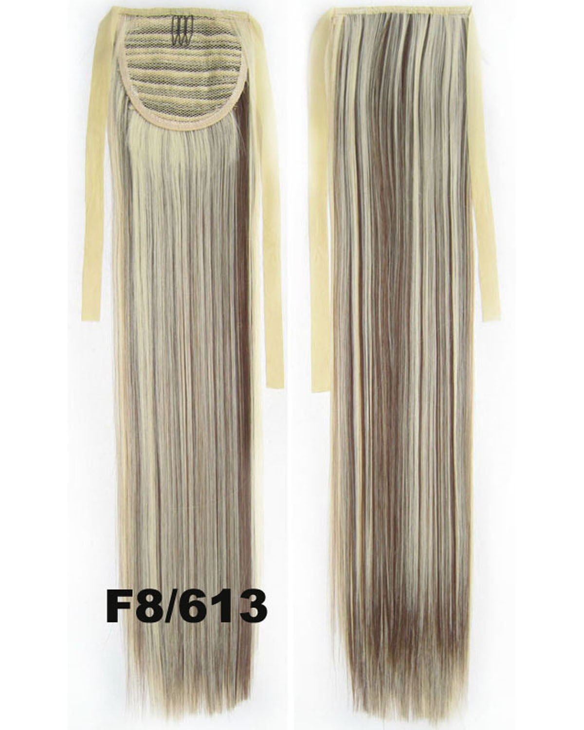 22 Inch Lady Straight and Long Lace/Ribbon Synthetic Hair Ponytail F8/613