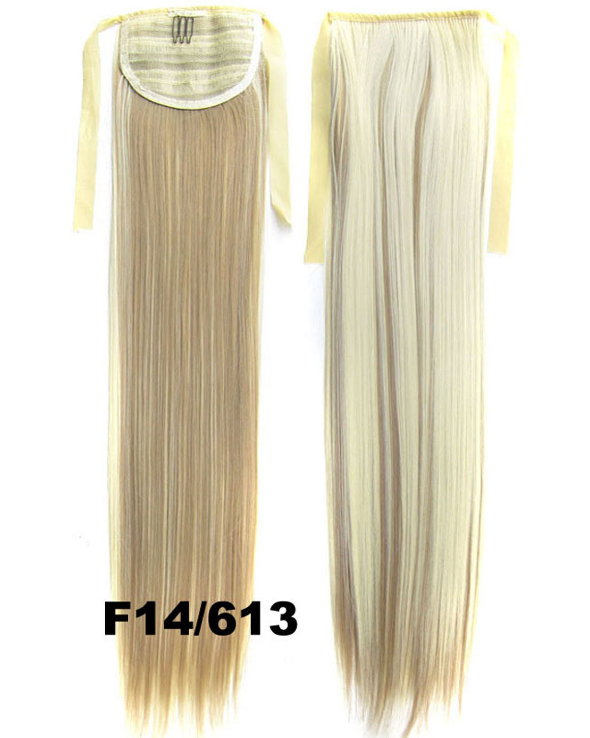 22 Inch Lady Stunning Straight and Long Lace/Ribbon Synthetic Hair Ponytail F14/613