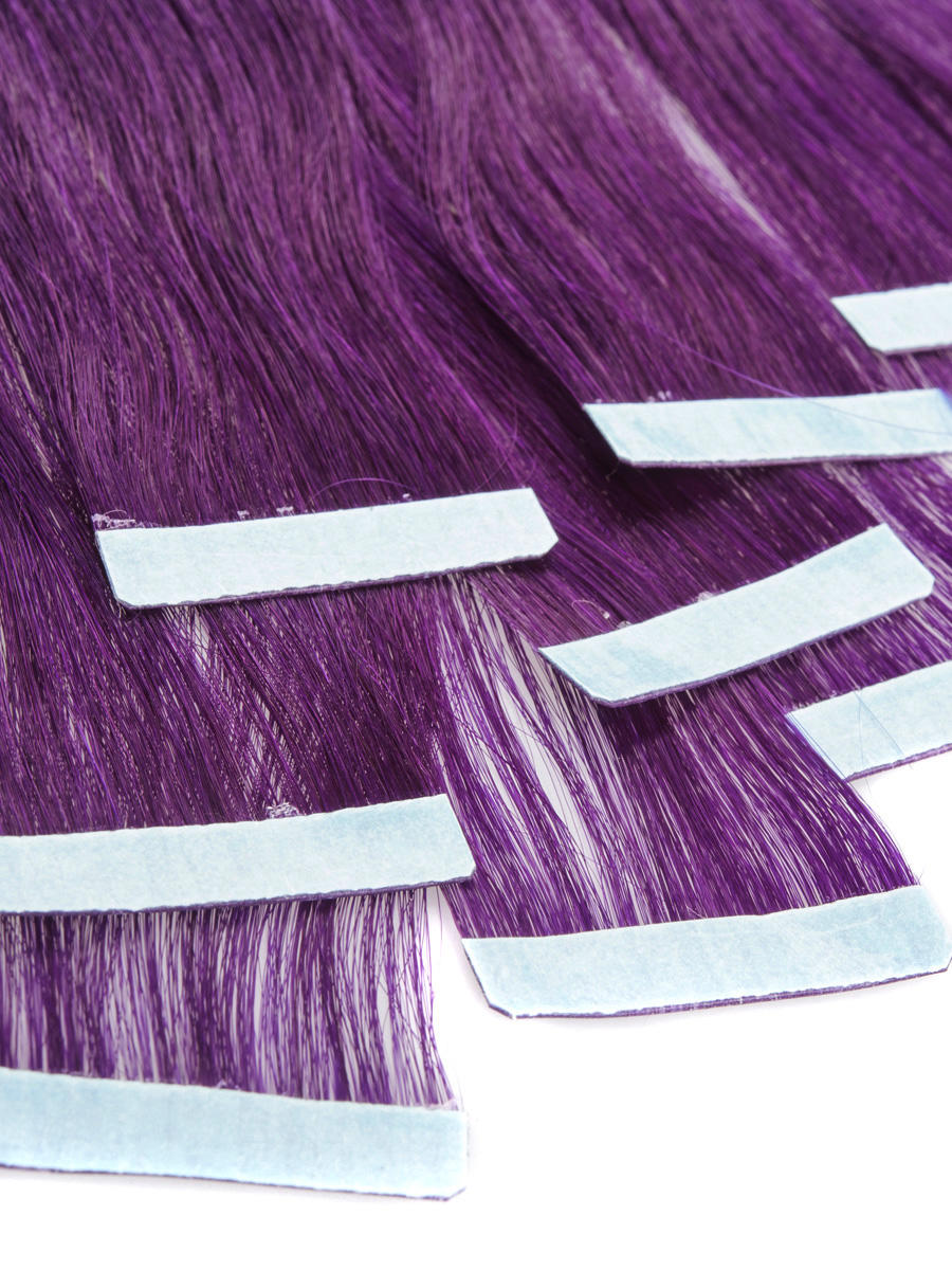 22 inch purple convenient tape in hair extensions straight 10pcs 22 inch purple convenient tape in hair extensions straight 10pcs no 3 pmusecretfo Images