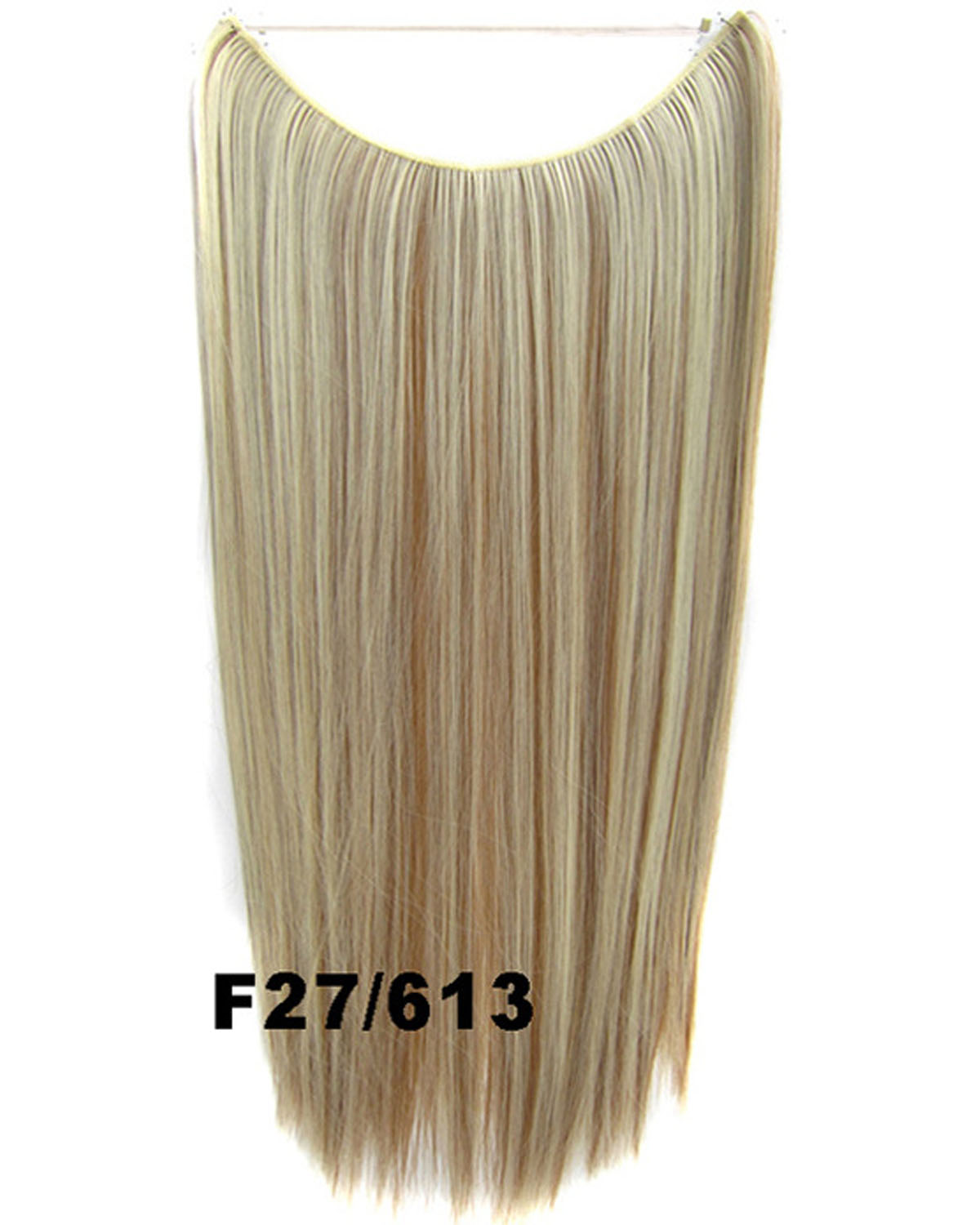 22 Inch Straight and Long One Piece Miracle Wire Flip in Synthetic Hair ExtensionF27/613