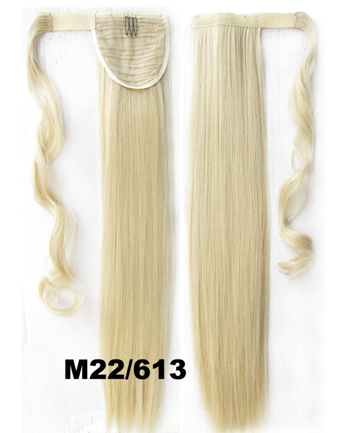 22 Inch Women Popular Straight and Long Wrap Around Synthetic Hair Ponytail  M22/613#