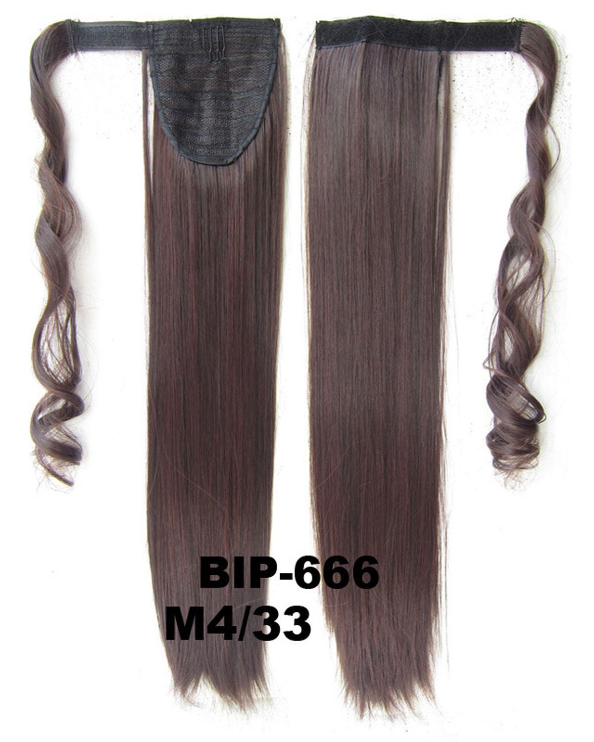 22 Inch Women Remarkable Straight and Long Wrap Around Synthetic Hair Ponytail  M4/33