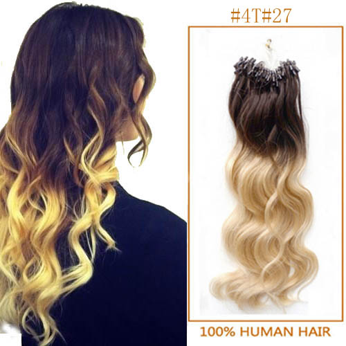 Inch ombre body wave micro loop hair extensions two tone 100s 24 inch ombre body wave micro loop hair extensions two tone 100s pmusecretfo Images