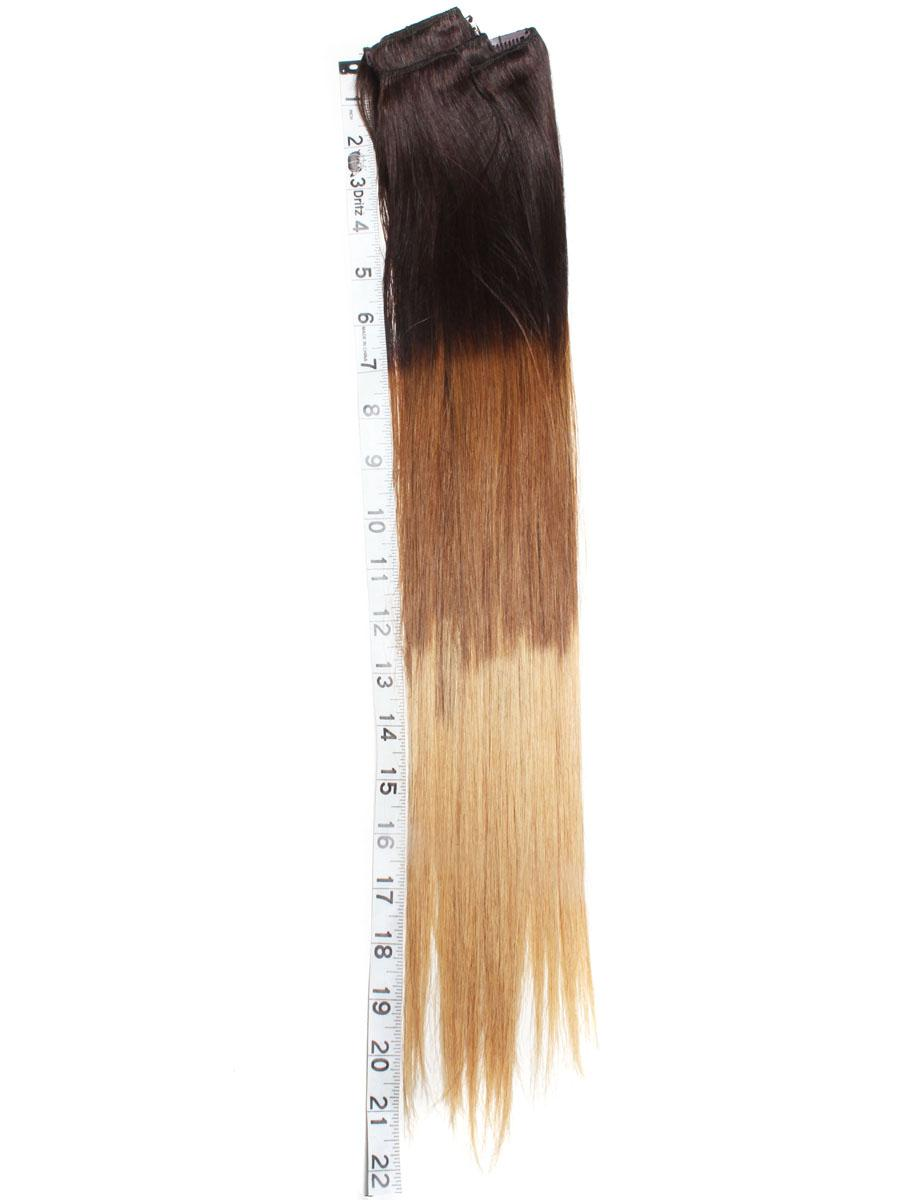 28 inch elegant ombre clip in hair extensions three tone straight 28 inch elegant ombre clip in hair extensions three tone straight 9 pieces no 1 pmusecretfo Images