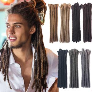 "30cm/12"" Reggae Dreadlocks for Men Handmade Crochet Braiding Locs Hair Extension"