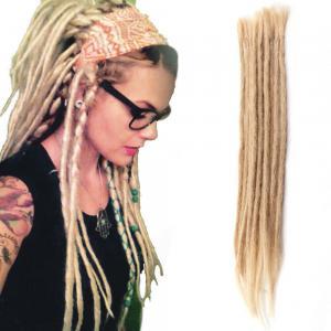 14 - 20 Inch Dreadlocks 100% Human Hair Handmade Braids Crochet Dreads Extensions 5 Strands