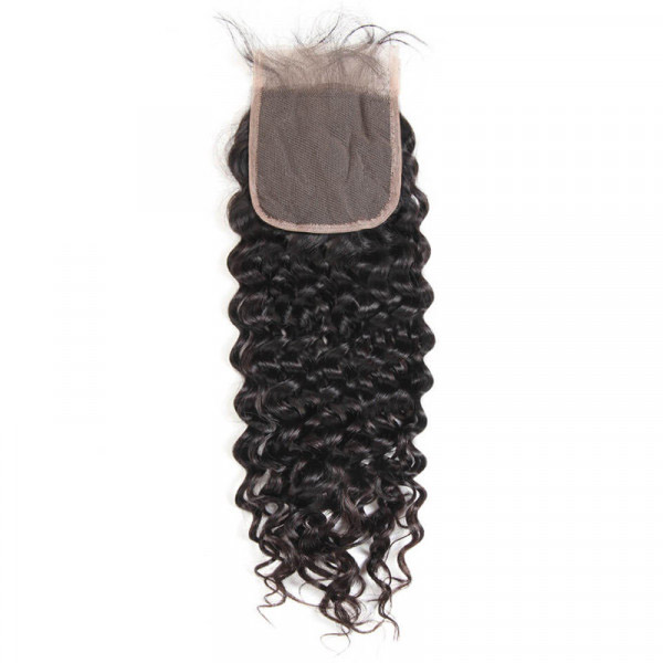 5x5 Size Closure Brazilian Natural Wave Hair Lace Frontal Closure For Sale 4