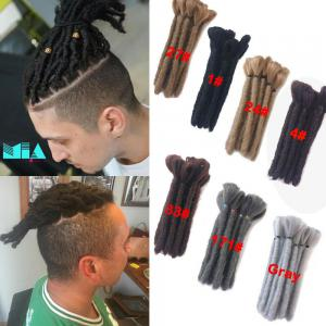 "6"" Short Dreadlocks for Men Braiding Dread Locs Synthetic Crochet Hair Extension"