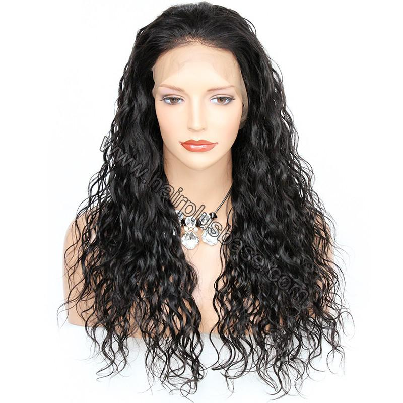 6 Inches Deep Part Pre Plucked Natural Wave 360 Lace Wigs 150% Density,  Indian Remy Hair 360 Wig