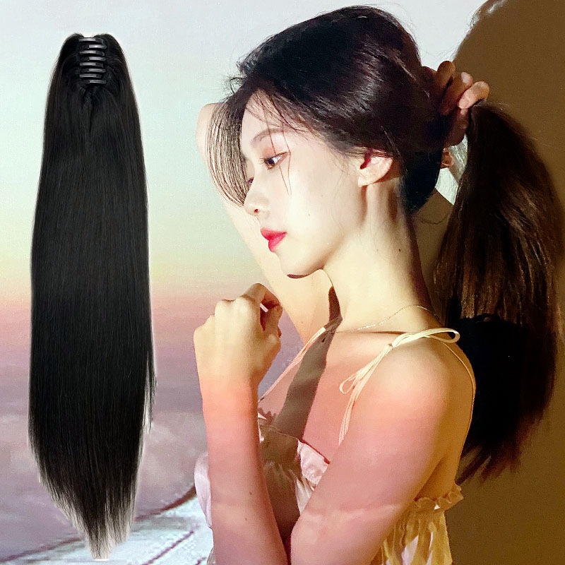 8 - 30 Inch Claw Ponytail Extension Human Hair 6