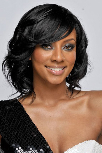 12 Inch Short Natural Wavy Black Human Hair Lace Wigs