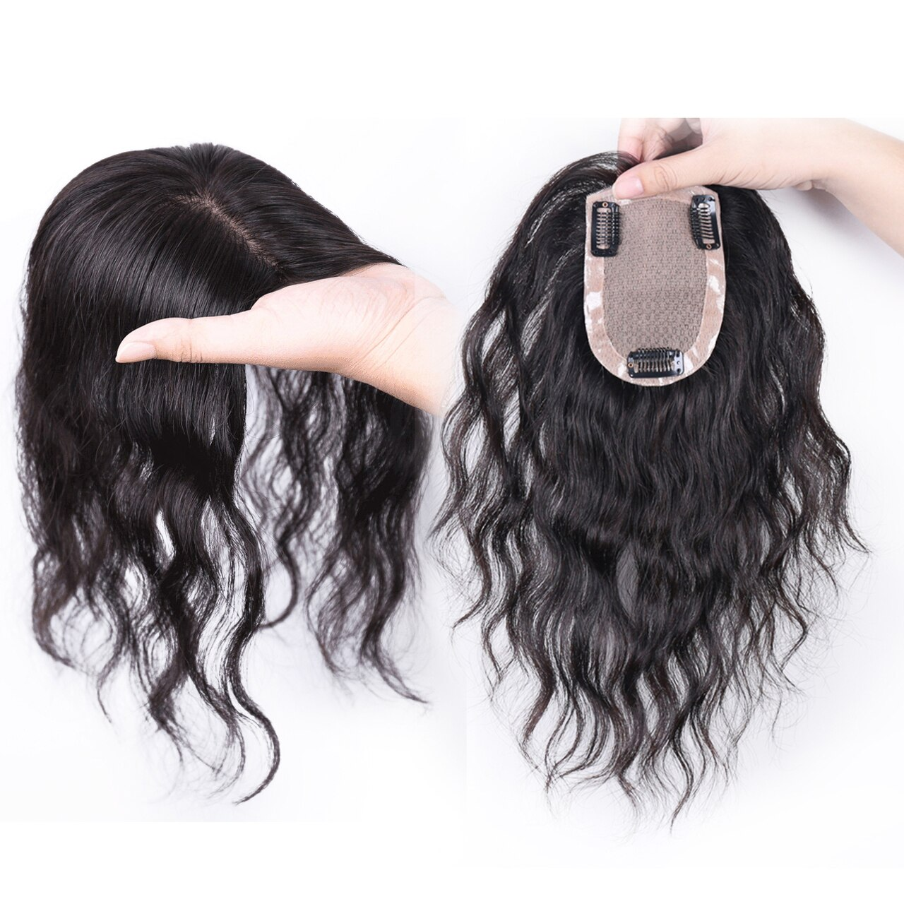All Hand  Made Women 's Permanent Hair Reissue Of Hot Film 100% Human Hair Top Hairpiece 5