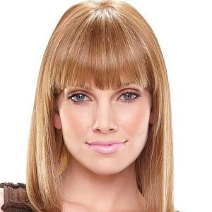 Ancient Cheap Human Hair Blonde Medium Wigs