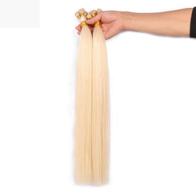 Best Hand Tied Hair Extensions Human Hair Weft Extensions Straight 6 Bundles/Pack #613
