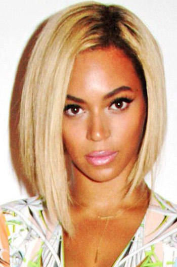 Beyonce Inspired Bob Ombre Blonde Human Hair Lace Wigs