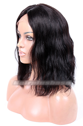 1# 12inches Choppy Bob Lace front wig