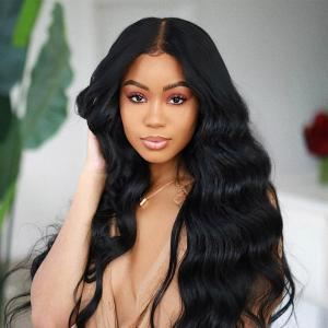 Body Wave Silk Base 13*4 Lace Front Wigs 180%-250% Density