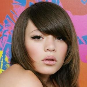 Brazil Lace Front Medium Straight Brown Top Quality High Heated Fiber Hair Wig