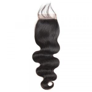 Brazilian Body Wave 4*4 Lace Closures Virgin Human Hair