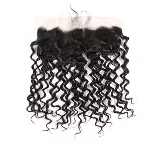 Brazilian Natural Wave Hair Lace Frontal Closure Human Virgin Hair
