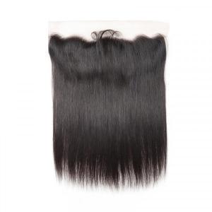 Brazilian Straight Hair 13*4 Lace Frontal Closure Unprocessed Virgin Hair