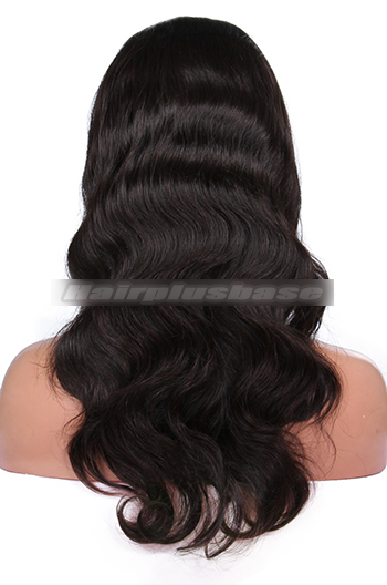 Body Wave Brazilian Virgin Hair Glueless Full Lace Wigs