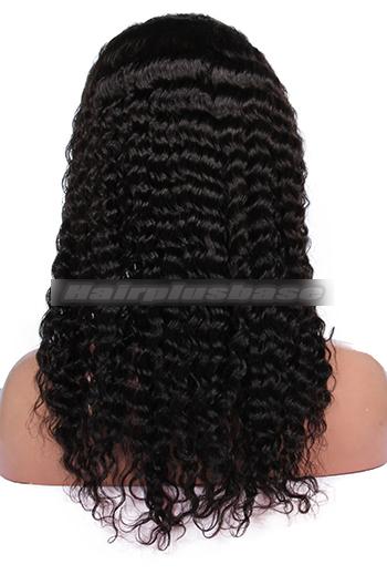 Deep Wave Brazilian Virgin Hair Glueless Full Lace Wigs