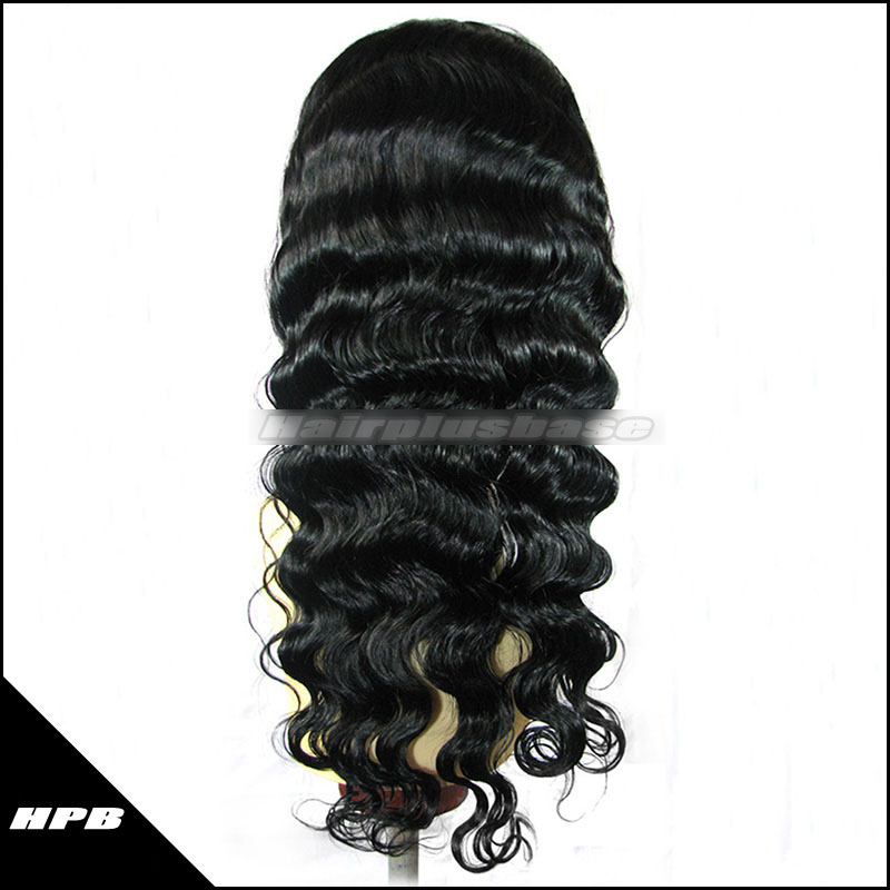 sexy deep body wave brazilian virgin hair full lace wigs