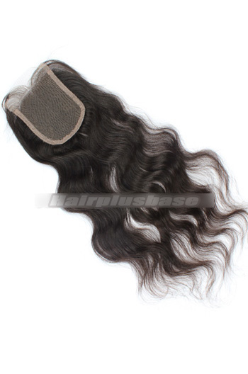 Natural Straight Brazilian Virgin Hair Lace Closure 4*4 Inches